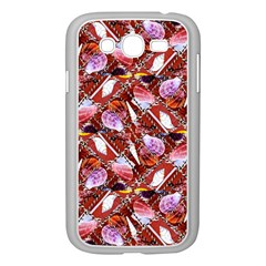 Background For Scrapbooking Or Other Shellfish Grounds Samsung Galaxy Grand DUOS I9082 Case (White)