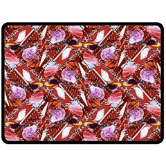 Background For Scrapbooking Or Other Shellfish Grounds Double Sided Fleece Blanket (large)