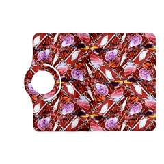 Background For Scrapbooking Or Other Shellfish Grounds Kindle Fire HD (2013) Flip 360 Case