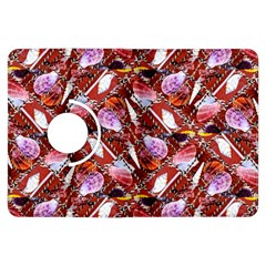 Background For Scrapbooking Or Other Shellfish Grounds Kindle Fire Hdx Flip 360 Case