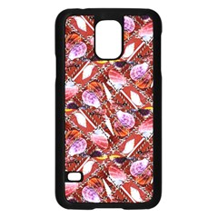 Background For Scrapbooking Or Other Shellfish Grounds Samsung Galaxy S5 Case (Black)