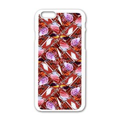 Background For Scrapbooking Or Other Shellfish Grounds Apple Iphone 6/6s White Enamel Case