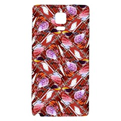 Background For Scrapbooking Or Other Shellfish Grounds Galaxy Note 4 Back Case