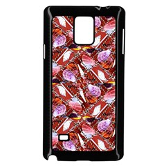 Background For Scrapbooking Or Other Shellfish Grounds Samsung Galaxy Note 4 Case (Black)