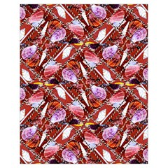 Background For Scrapbooking Or Other Shellfish Grounds Drawstring Bag (Small)