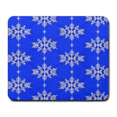 Background For Scrapbooking Or Other Snowflakes Patterns Large Mousepads