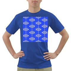 Background For Scrapbooking Or Other Snowflakes Patterns Dark T Shirt