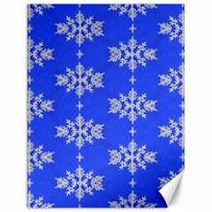 Background For Scrapbooking Or Other Snowflakes Patterns Canvas 12  x 16