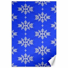 Background For Scrapbooking Or Other Snowflakes Patterns Canvas 12  x 18