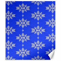 Background For Scrapbooking Or Other Snowflakes Patterns Canvas 20  x 24