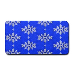 Background For Scrapbooking Or Other Snowflakes Patterns Medium Bar Mats