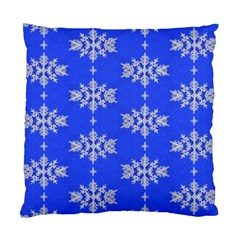 Background For Scrapbooking Or Other Snowflakes Patterns Standard Cushion Case (two Sides)