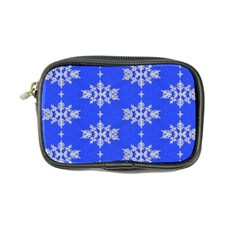 Background For Scrapbooking Or Other Snowflakes Patterns Coin Purse