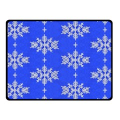 Background For Scrapbooking Or Other Snowflakes Patterns Fleece Blanket (Small)