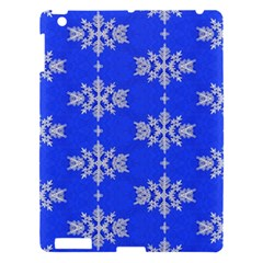 Background For Scrapbooking Or Other Snowflakes Patterns Apple Ipad 3/4 Hardshell Case