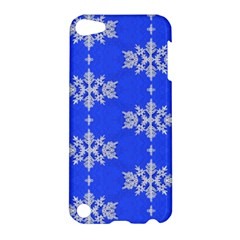 Background For Scrapbooking Or Other Snowflakes Patterns Apple Ipod Touch 5 Hardshell Case