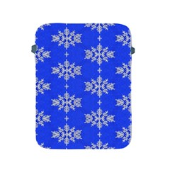 Background For Scrapbooking Or Other Snowflakes Patterns Apple Ipad 2/3/4 Protective Soft Cases