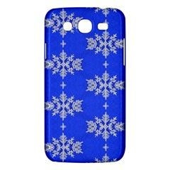 Background For Scrapbooking Or Other Snowflakes Patterns Samsung Galaxy Mega 5 8 I9152 Hardshell Case