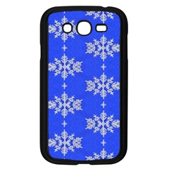 Background For Scrapbooking Or Other Snowflakes Patterns Samsung Galaxy Grand DUOS I9082 Case (Black)