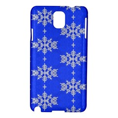Background For Scrapbooking Or Other Snowflakes Patterns Samsung Galaxy Note 3 N9005 Hardshell Case