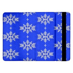 Background For Scrapbooking Or Other Snowflakes Patterns Samsung Galaxy Tab Pro 12.2  Flip Case