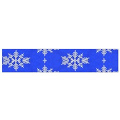 Background For Scrapbooking Or Other Snowflakes Patterns Flano Scarf (small)