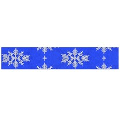 Background For Scrapbooking Or Other Snowflakes Patterns Flano Scarf (large)