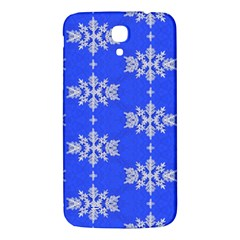 Background For Scrapbooking Or Other Snowflakes Patterns Samsung Galaxy Mega I9200 Hardshell Back Case