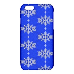 Background For Scrapbooking Or Other Snowflakes Patterns iPhone 6/6S TPU Case