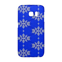 Background For Scrapbooking Or Other Snowflakes Patterns Galaxy S6 Edge
