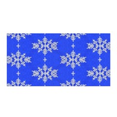 Background For Scrapbooking Or Other Snowflakes Patterns Satin Wrap