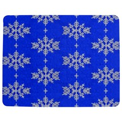 Background For Scrapbooking Or Other Snowflakes Patterns Jigsaw Puzzle Photo Stand (Rectangular)