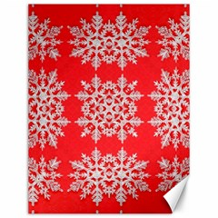 Background For Scrapbooking Or Other Stylized Snowflakes Canvas 12  x 16