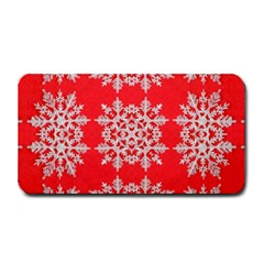 Background For Scrapbooking Or Other Stylized Snowflakes Medium Bar Mats