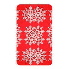 Background For Scrapbooking Or Other Stylized Snowflakes Memory Card Reader