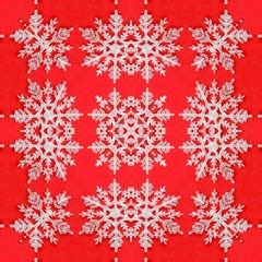 Background For Scrapbooking Or Other Stylized Snowflakes Magic Photo Cubes