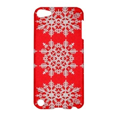 Background For Scrapbooking Or Other Stylized Snowflakes Apple iPod Touch 5 Hardshell Case