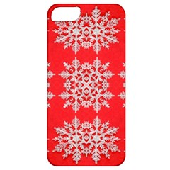 Background For Scrapbooking Or Other Stylized Snowflakes Apple iPhone 5 Classic Hardshell Case