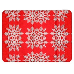 Background For Scrapbooking Or Other Stylized Snowflakes Samsung Galaxy Tab 7  P1000 Flip Case