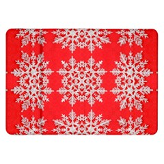 Background For Scrapbooking Or Other Stylized Snowflakes Samsung Galaxy Tab 8.9  P7300 Flip Case