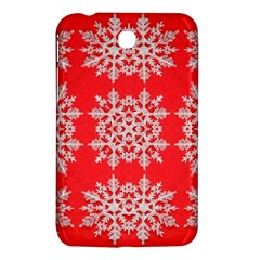 Background For Scrapbooking Or Other Stylized Snowflakes Samsung Galaxy Tab 3 (7 ) P3200 Hardshell Case