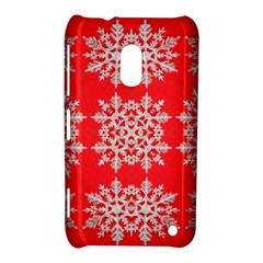 Background For Scrapbooking Or Other Stylized Snowflakes Nokia Lumia 620