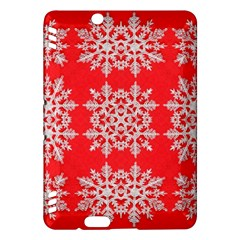Background For Scrapbooking Or Other Stylized Snowflakes Kindle Fire HDX Hardshell Case