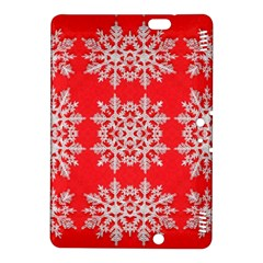 Background For Scrapbooking Or Other Stylized Snowflakes Kindle Fire HDX 8.9  Hardshell Case