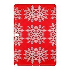 Background For Scrapbooking Or Other Stylized Snowflakes Samsung Galaxy Tab Pro 10 1 Hardshell Case