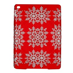 Background For Scrapbooking Or Other Stylized Snowflakes Ipad Air 2 Hardshell Cases