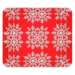 Background For Scrapbooking Or Other Stylized Snowflakes Double Sided Flano Blanket (Small)
