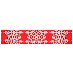 Background For Scrapbooking Or Other Stylized Snowflakes Flano Scarf (Small)