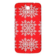 Background For Scrapbooking Or Other Stylized Snowflakes Samsung Galaxy Mega I9200 Hardshell Back Case
