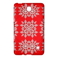 Background For Scrapbooking Or Other Stylized Snowflakes Samsung Galaxy Tab 4 (8 ) Hardshell Case